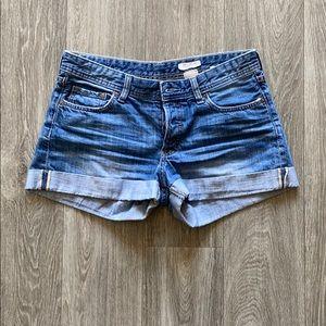 H&M Denim Boyfriend Shorts